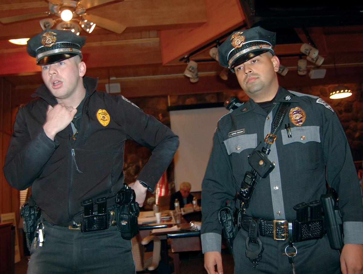 State Police in the Board Room