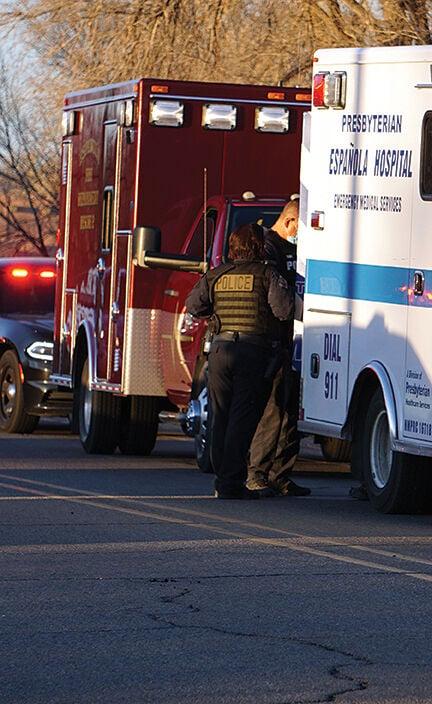 Medics at scene