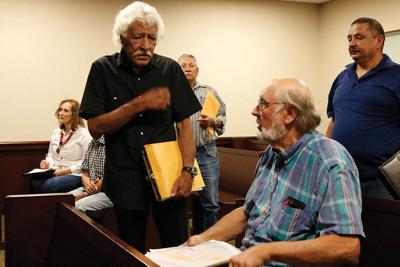 county NCSWA first hearing on grand jury investigation petition DeVargas Orie