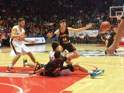 Scramble for rebound