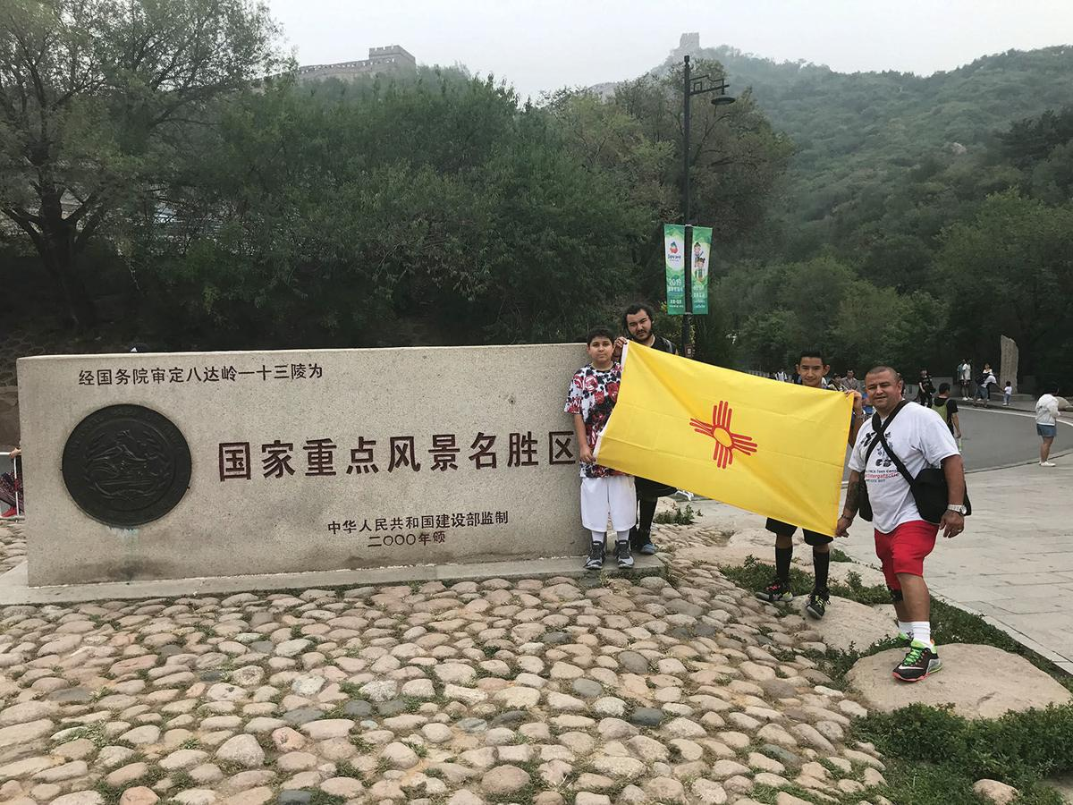 YMCA teen center goes to great wall of china.jpg