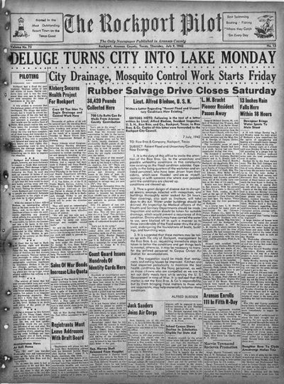 Same news 79 years earlier
