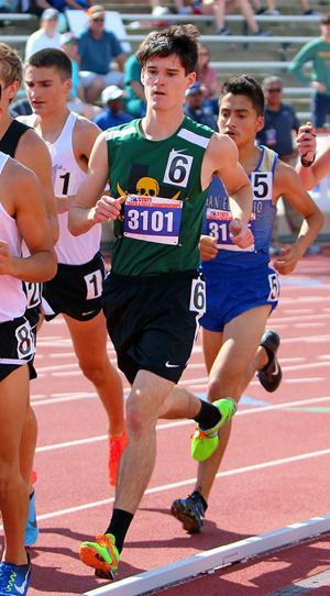 Guidry, Isom compete at state track meet