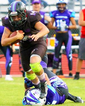 Her-Ricanes fall in first round of IWFA playoffs