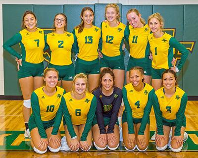 Lady Pirate volleyball team
