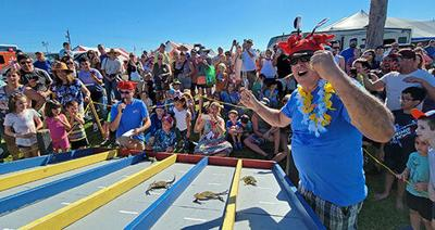 Crab races at Seafair