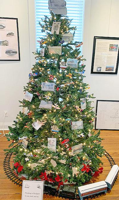Postcard tree