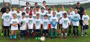 2018 Pirate Soccer Camp participants