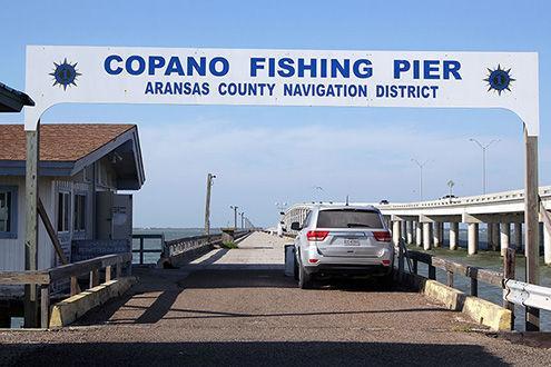 Copano bay fishing pier the rockport pilot home for Copano bay fishing