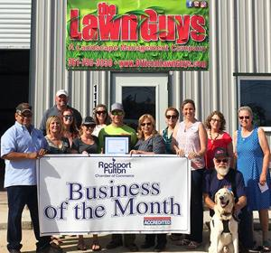 Business of Month - The Lawn Guys