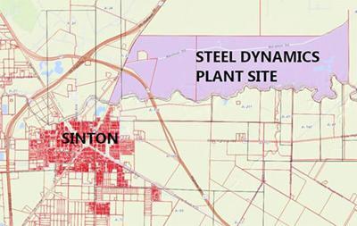 Steel plant site