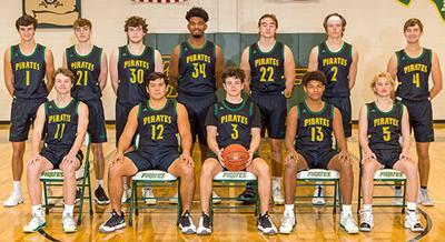2020-21 Pirate basketball team