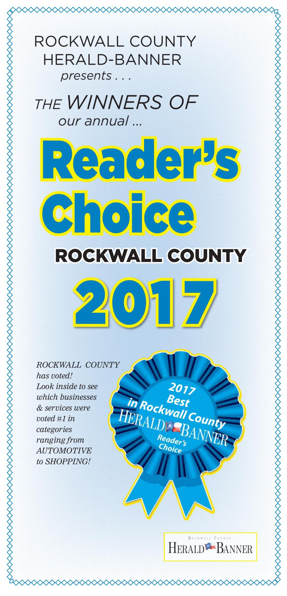 2017 Readers Choice Rockwall Part 1