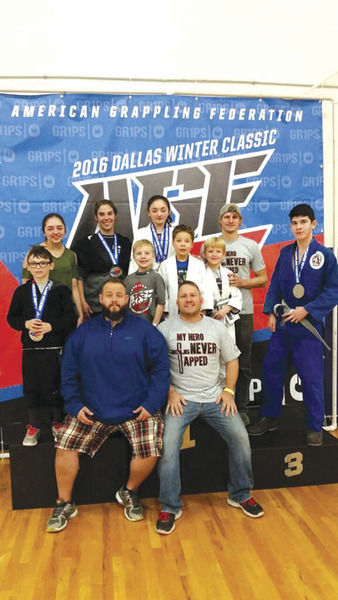 Rockwall-based 3:16 Brazilian Jiu Jitsu brings home medals | Local