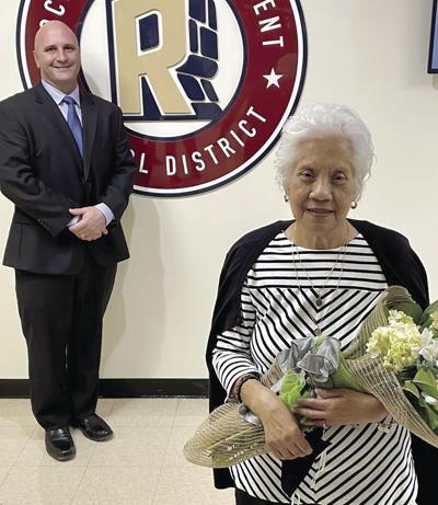 Longtime educator honored