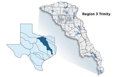Trinity River Basin Region 3