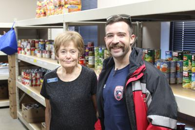 Helping Hands receives donation from Rockwall County EMS