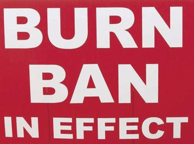Burn ban in place