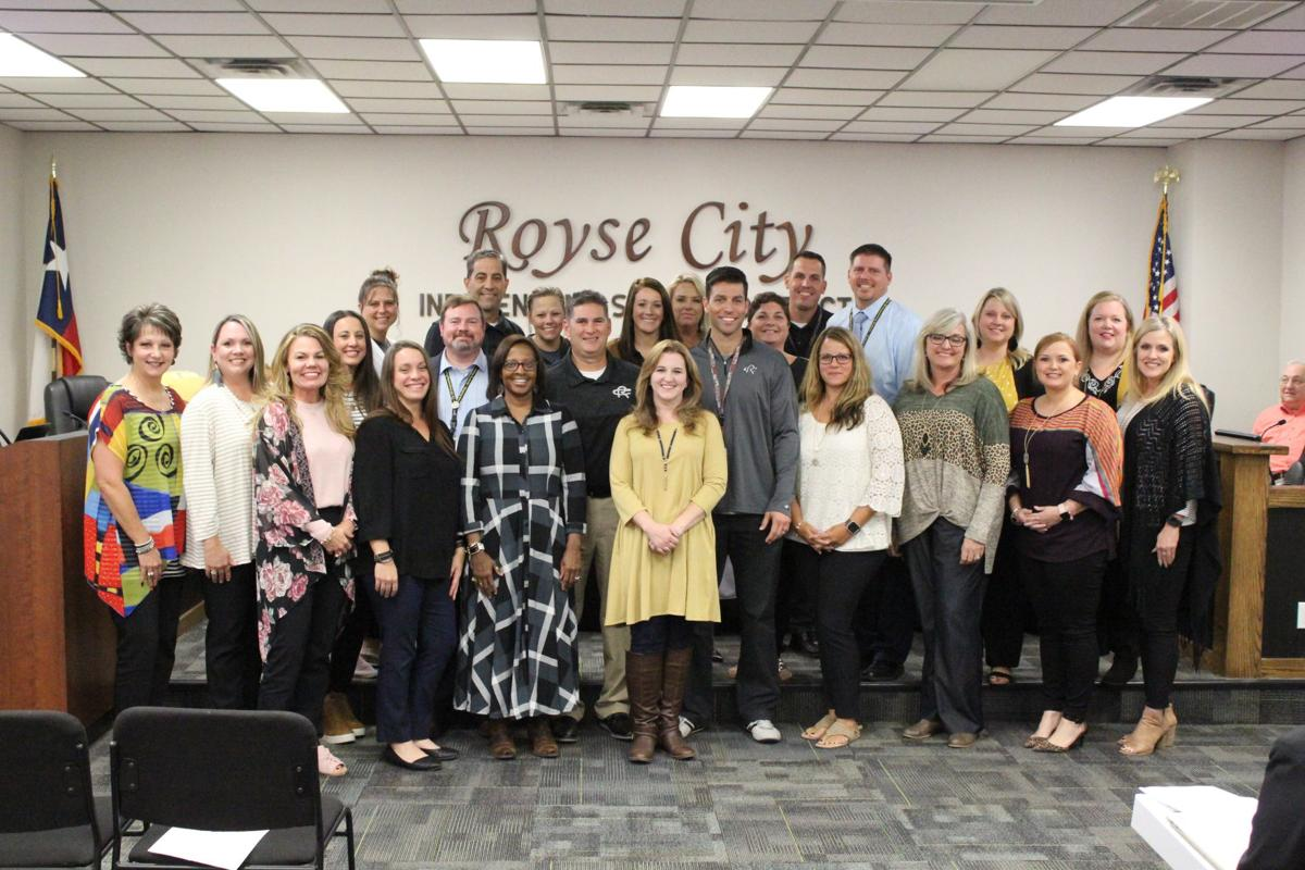 2019-2020 Royse City ISD principals and assistant principals