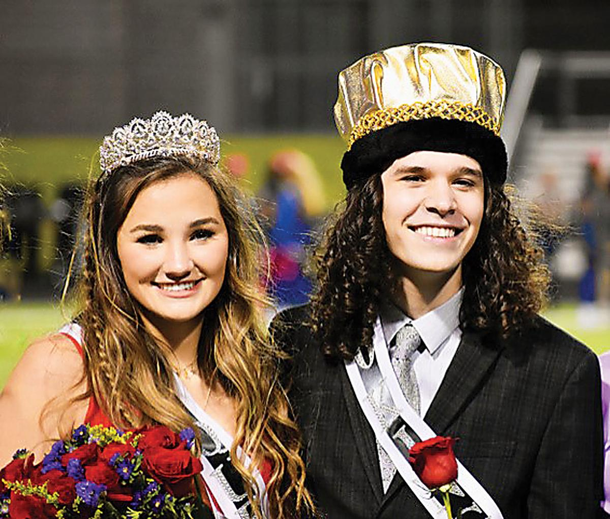 Royse City homecoming queen and king