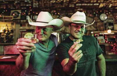 """""""Dos Borrachos"""" Kevin Fowler and Roger Creager"""