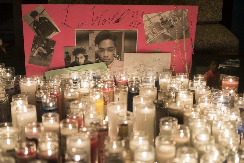 Candlelight vigil held forvictim