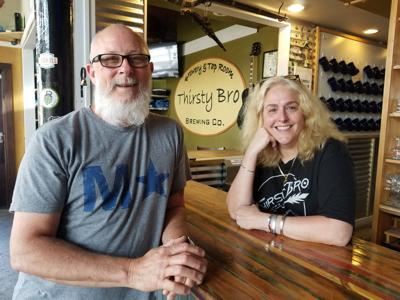 Terry and Cathe Gordon of Thirsty Bro Brewing