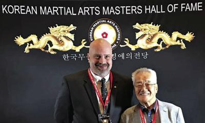 One of the best: Royse City man inducted into Korean martial arts