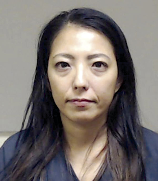 Nanako Wark mug shot