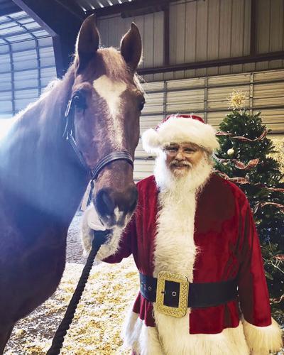 Santa Claus at Black Star Sport Horse