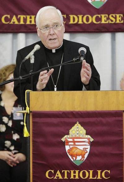 Buffalo bishop resigns