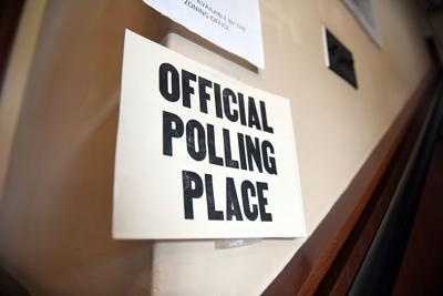 Sign, Polling Place