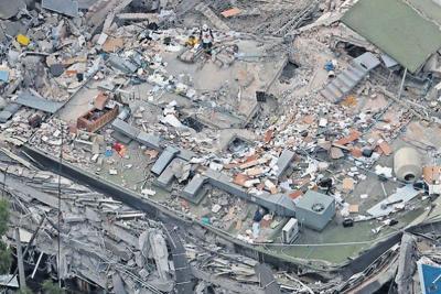 Soft soil base makes Mexico City quake worse