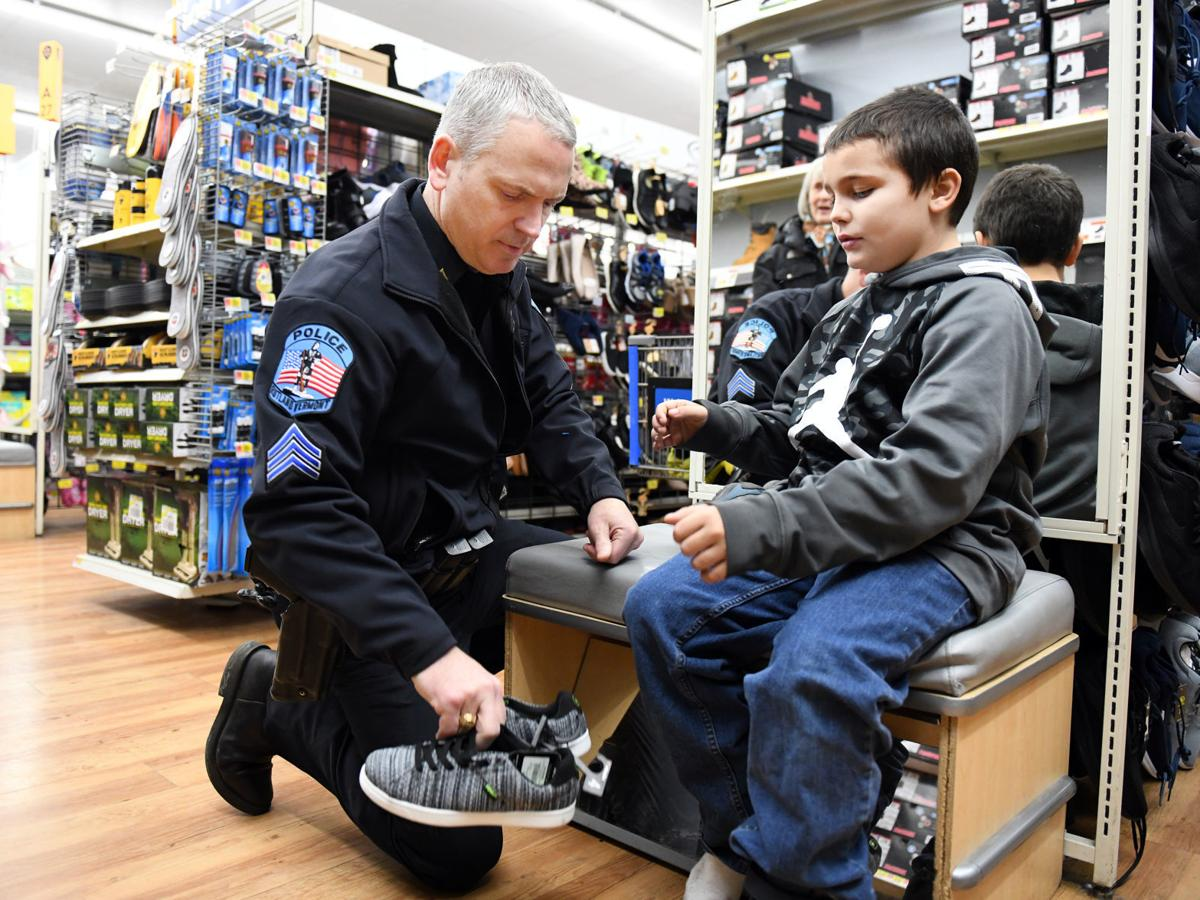 Rutland kids 'Shop With a Cop' for a better holiday