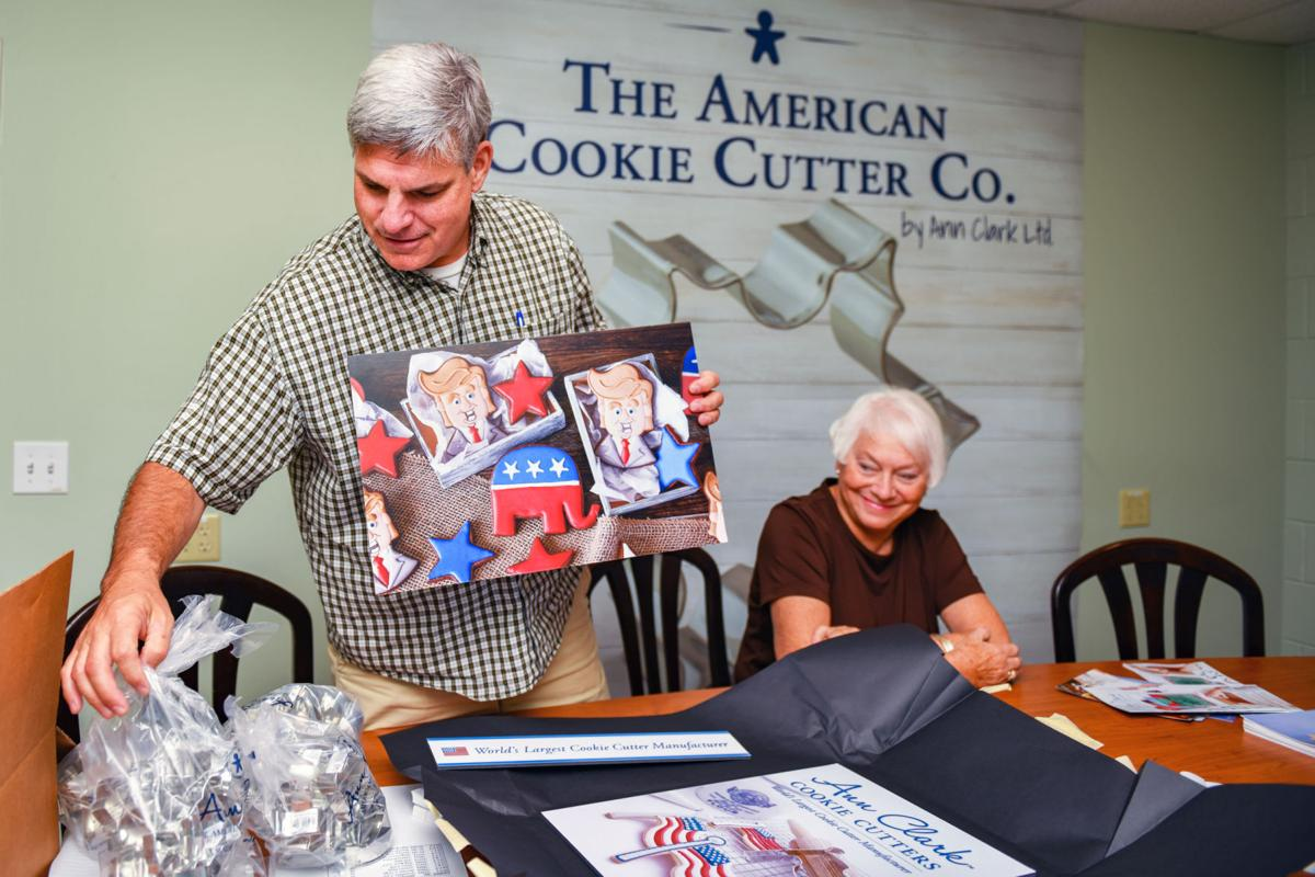 Cookie cutter stamping off to the White House