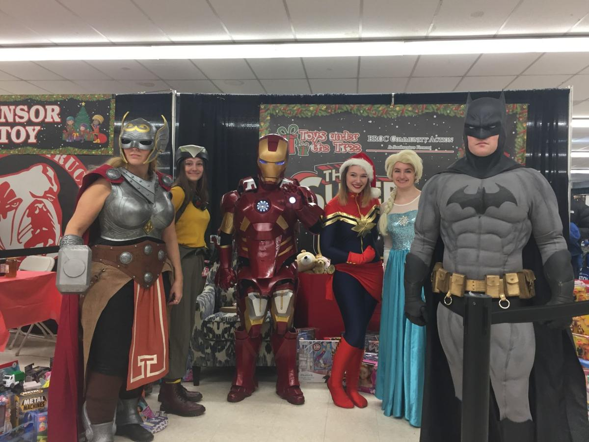 Superheroes and Sith Lords get together in Rutland to help families