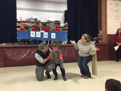 First-grader's wish is granted