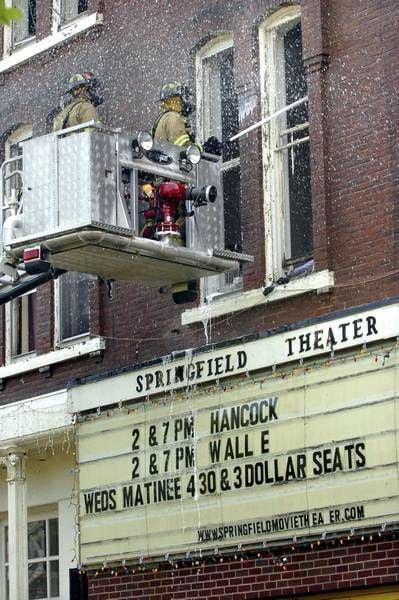 Teen Charged In Springfield Ellis Block Fire News