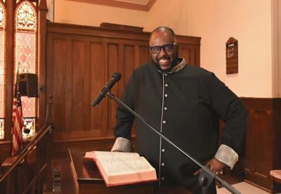 Bishop James Mills, of Pittsford