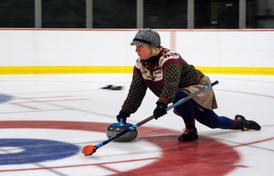curling rutland rocks