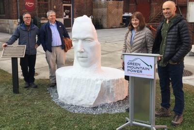 Bill W. sculpture unveiled