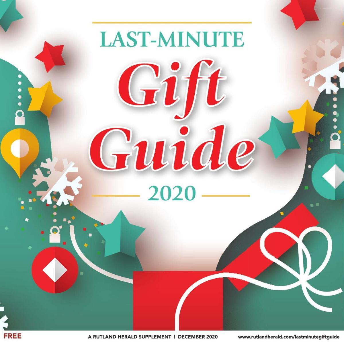 Last Minute Gift Guide 2020
