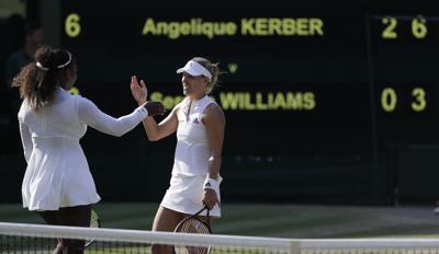 Kerber beats Serena to win 1st Wimbledon title