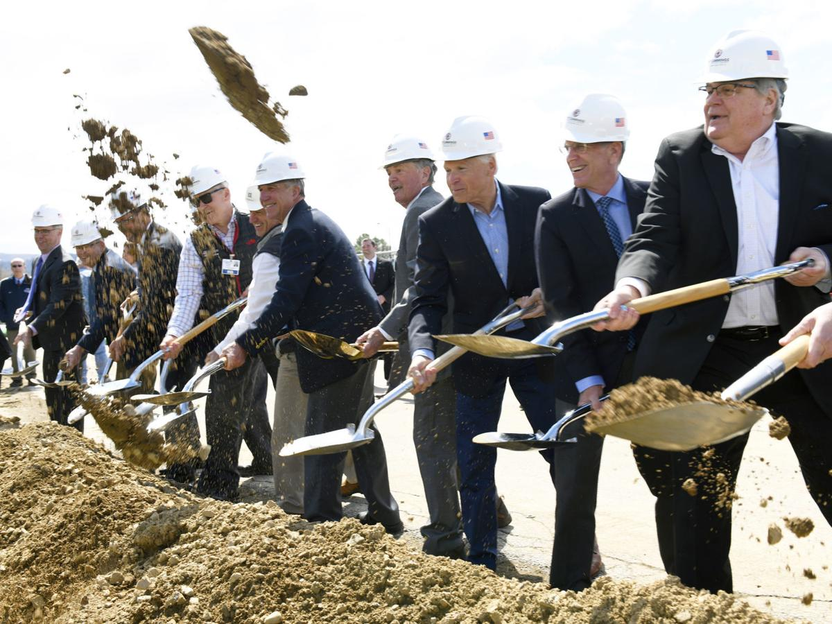 Officials celebrate groundbreaking for addition to RRMC