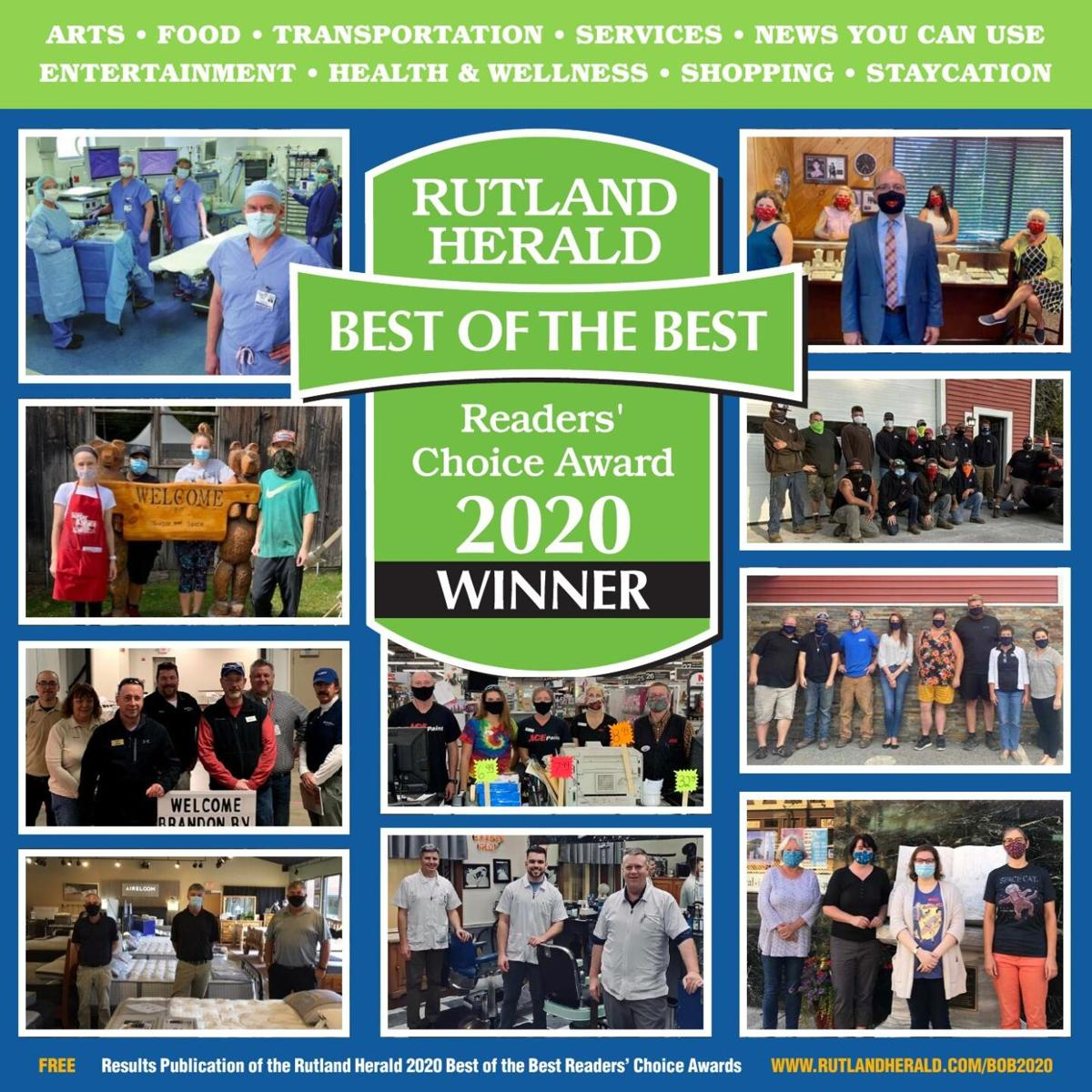 Best of the Best Readers' Choice Awards 2020