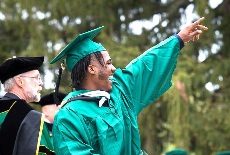 GMC grads told: 'Always have a Plan B'