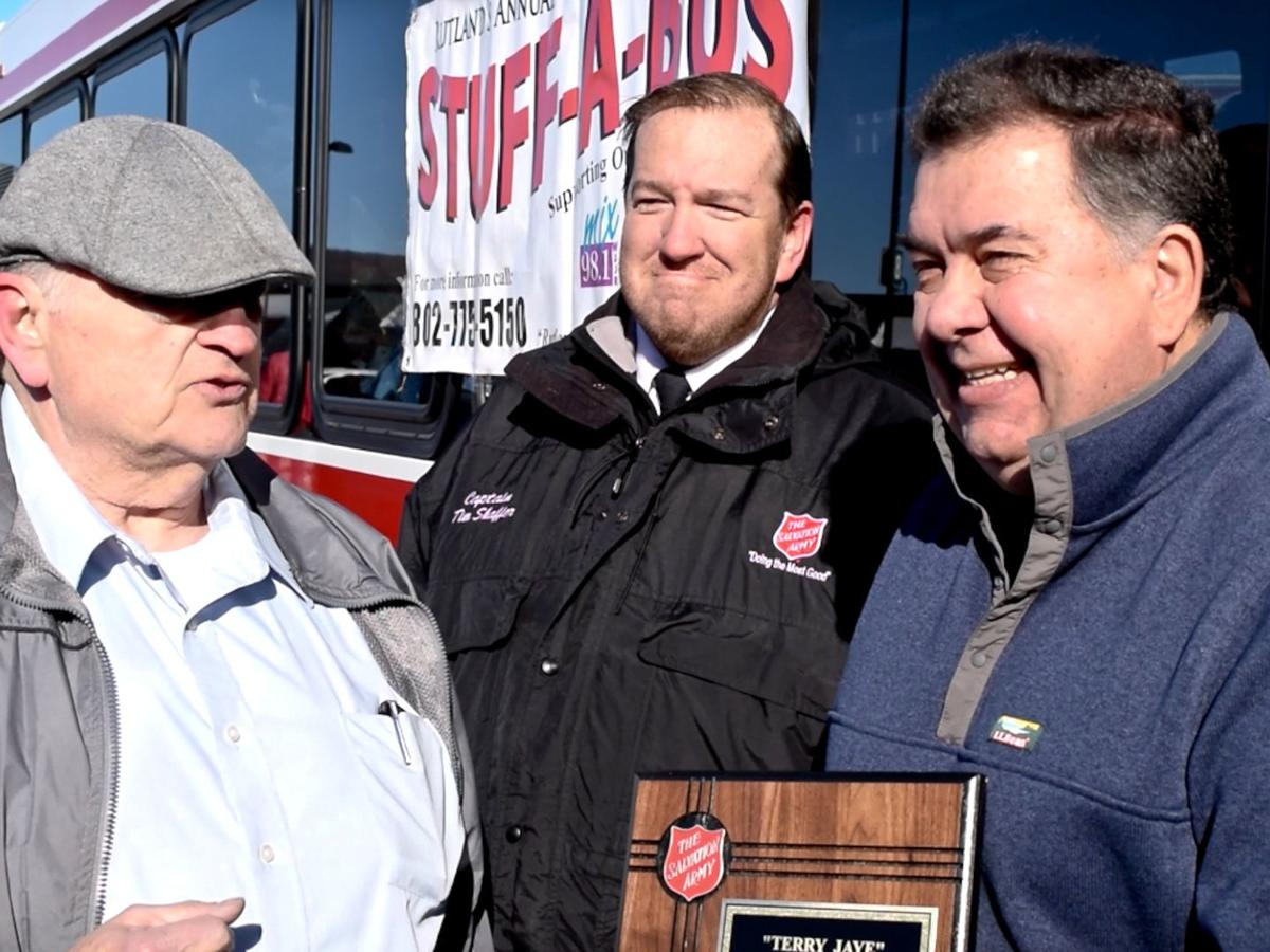 Stuff-A-Bus founders gather, break records for 25th anniversary