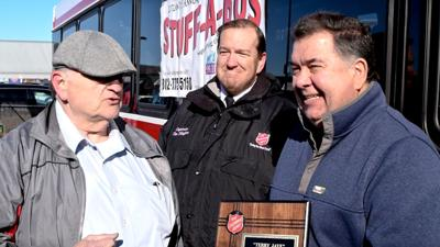Stuff-A-Bus breaks record for donations