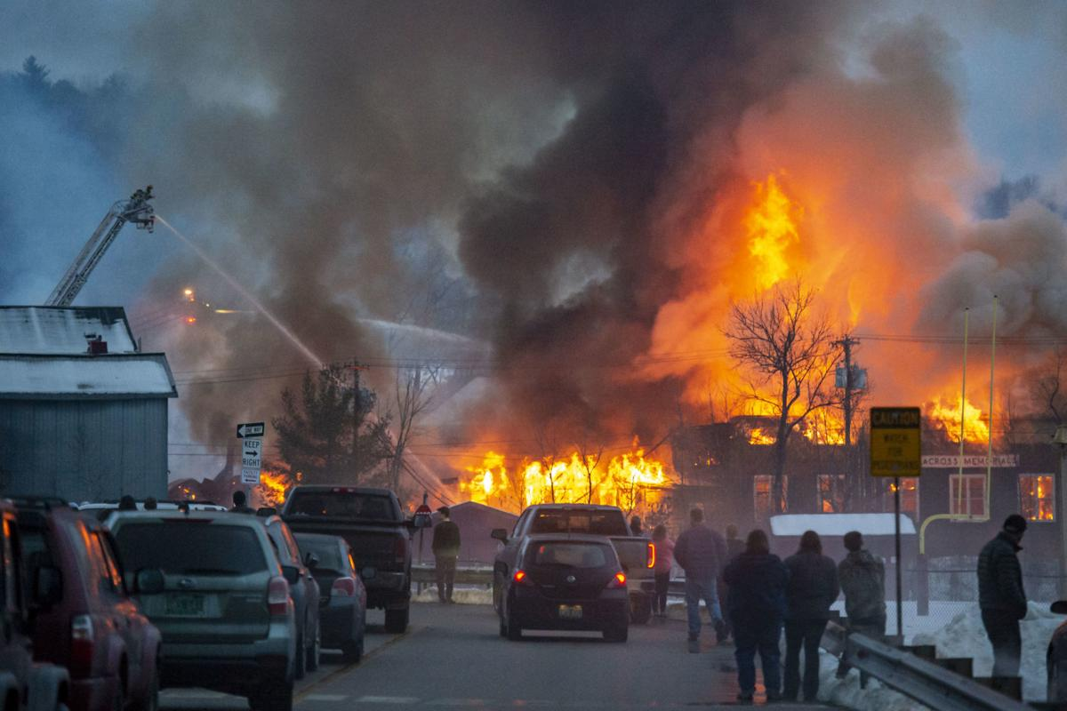 Boynton Street Fire