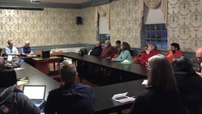 GMC meeting with alumni
